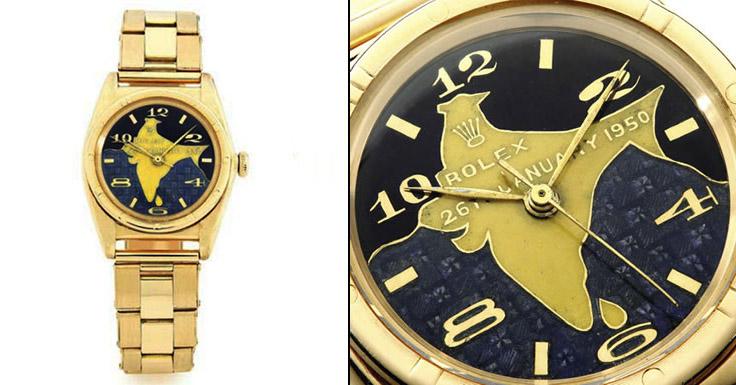 Dr. Rajendra Prasad Gold Rolex Oyster - Top 10 Duurste Rolex Horloges ter Wereld