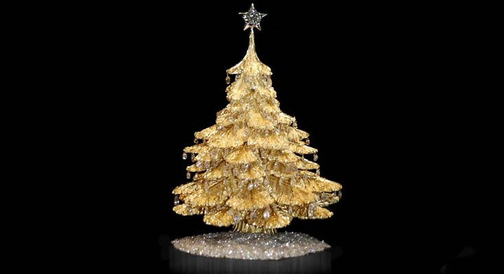 Expensive Christmas Tree Decorations Uk : The most expensive christmas trees in world how