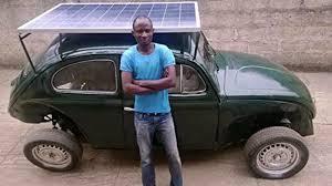 Nigerian engineer converts a VW Beetle
