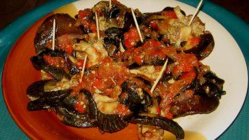 snails,spring rolls, food makeover 010