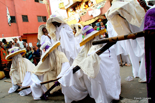 eyo festival in lagos nigeria The eyo festival, otherwise known as the adamu orisha play, is a yoruba festival unique to lagos, nigeria in modern times, it is presented by the people of lagos as a tourist event and, due to its history, is traditionally performed on lagos island.