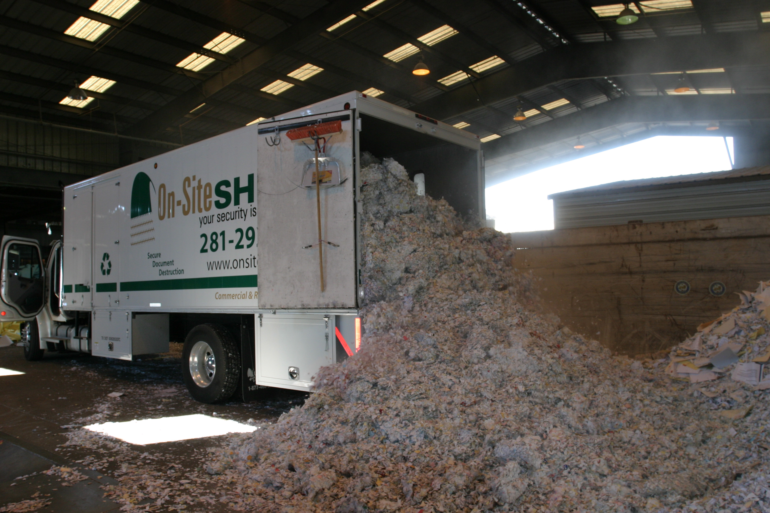 Mobile paper shredding business plan