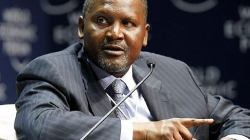 Aliko Dangote Buys The Largest Crane In Africa
