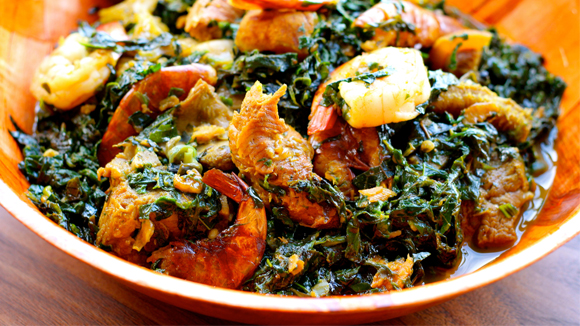 how to prepare nigerian crab soup