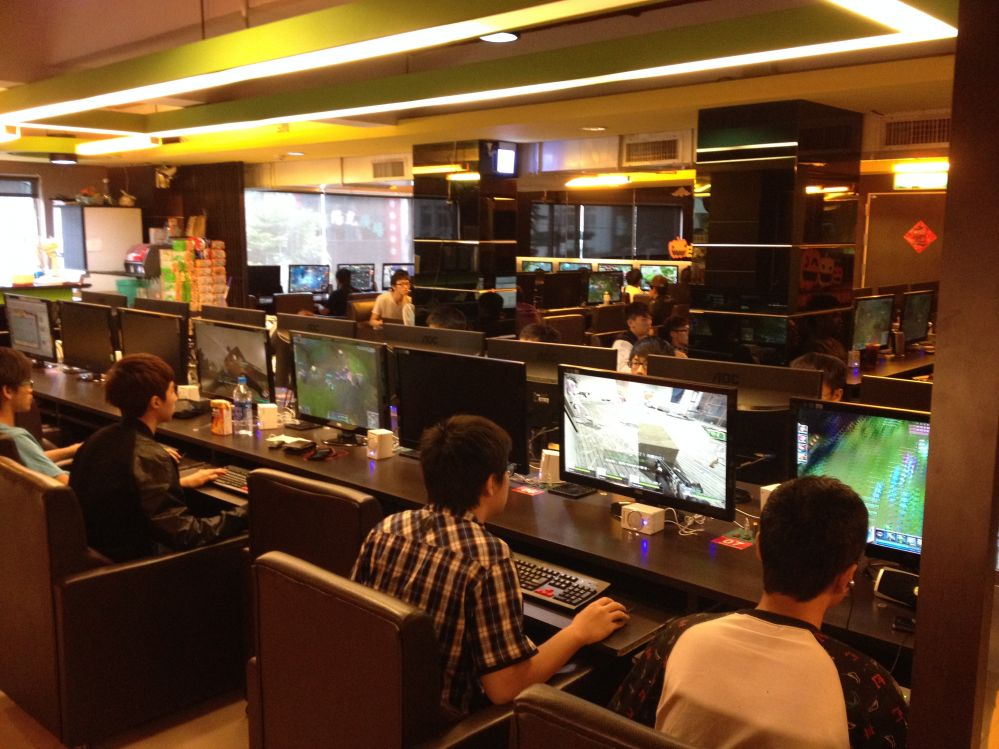 Gaming Internet Cafe San Francisco