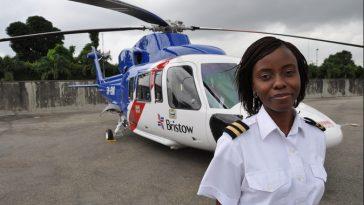 CAPTAIN-ABIMBOLA-JAYEOLA-Nigeria's-First-Female-Helicopter-Pilot-Life-Photos-Origin-Family-Biography-Bristow-Helicopter-Training-2-Helicopter-Cover-Photo