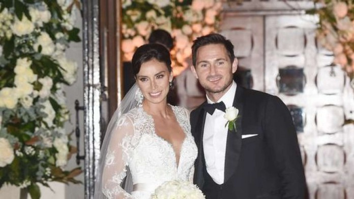 Frank-Lampard-and-Christine-Bleakley-seen-leaving-thier-Wedding-ceremony-696x392