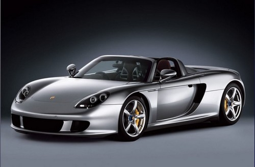 Porsche-Carrera-GT-White