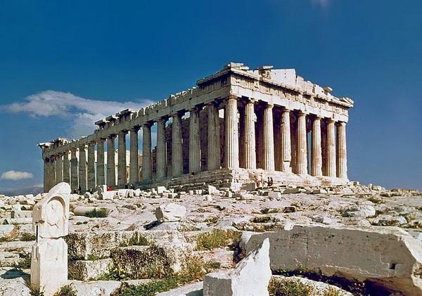 The-Parthenon-in-Athens