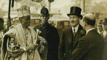 Alake-of-abeokuta-oba-ladipo-ademola-attending-d-coronation-of-king-george-of-england-1934