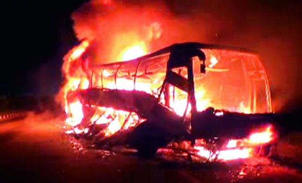 fire - bus