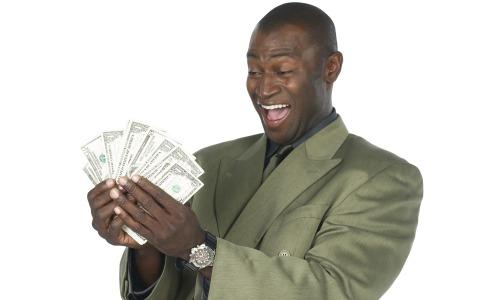 black-man-counting-money