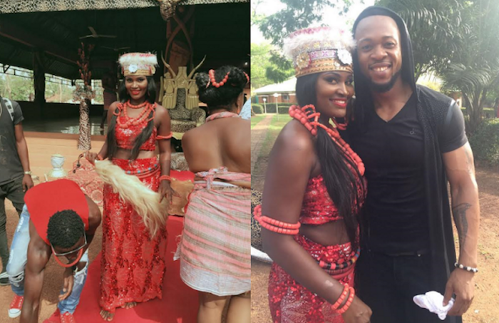 Chizzy Alichi and Flavour