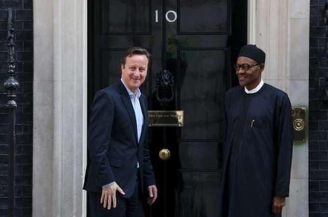David Cameron and Buhari