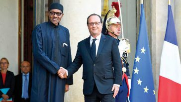 Francois Hollande and buhari