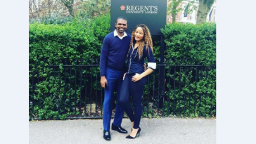 Kanu Nwankwo and wife