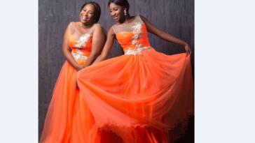 Miss Nigeria & Her Twin Sister