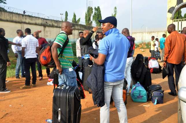 Nigerian-deportees