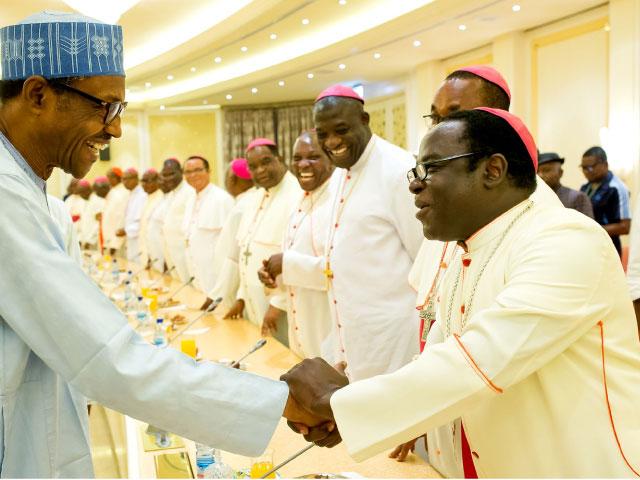 President Buhari AND Catholic Bishops