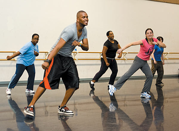 Dancing healthy exercise