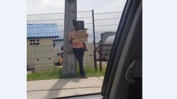 unemployed lady