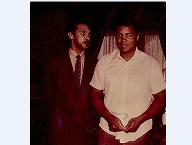 Ben and Muhammad Ali