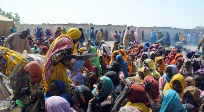 Borno IDP Camp