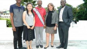 Dr. Titilayo Ayotunde, Dr. Asa Soladoye Sunday and Dr. Kupoluyi Joseph Ayodeji