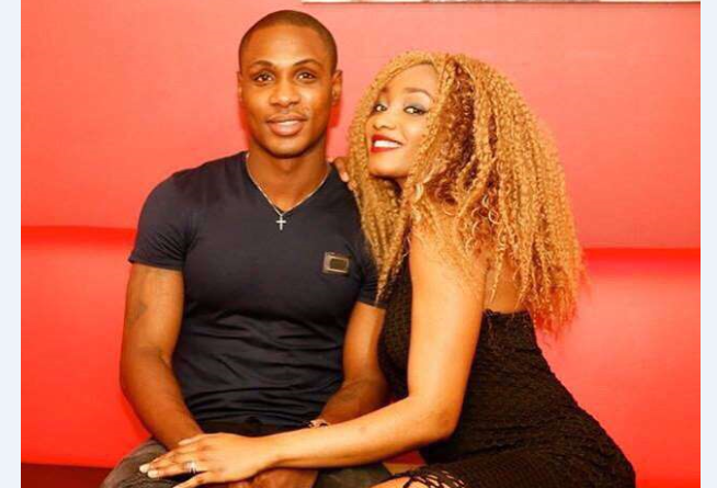 Odion Ighalo and wife