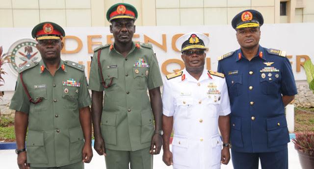Service-chiefs-Nigeria-military