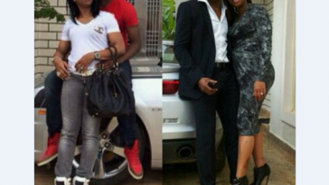 Vincent Enyeama and wife