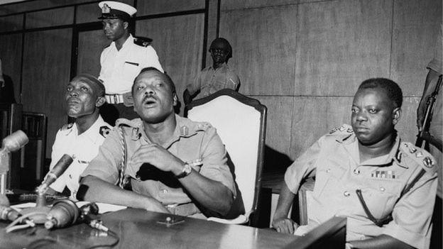 Major General Johnson Aguiyi-Ironsi (1924 - 1966) Photo Credit: AFP