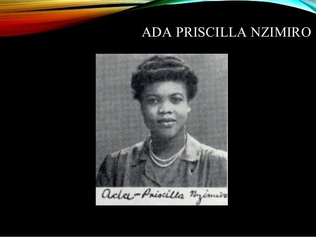 Ada Priscilla Nzimiro