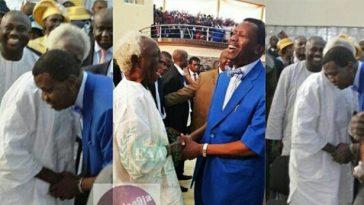Olunloyo's Father And Pastor Adeboye