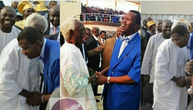 Olunloyo's Father And Pastor Adeboye