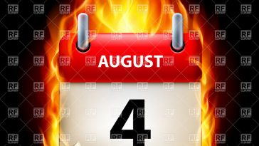 4th of august