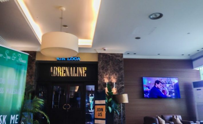 Adrenaline Sports Bar at The Four Points Sheraton