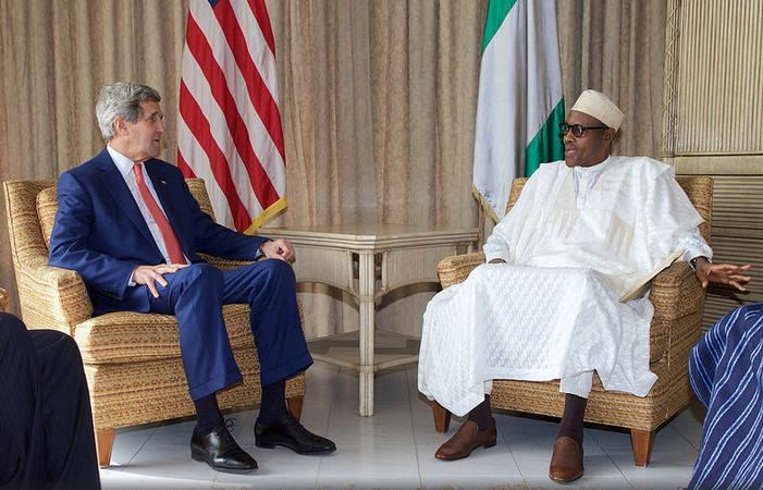 John-Kerry and Buhari