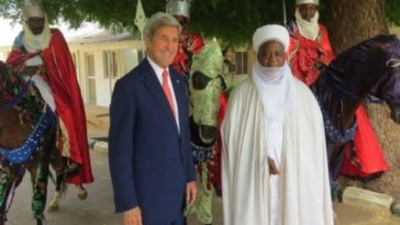 John Kerry and Sultan Of Sokoto