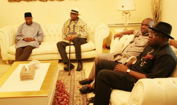 Jonathan, Dickson and Wike