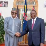 President Buhari and President Kenyatta of Kenya