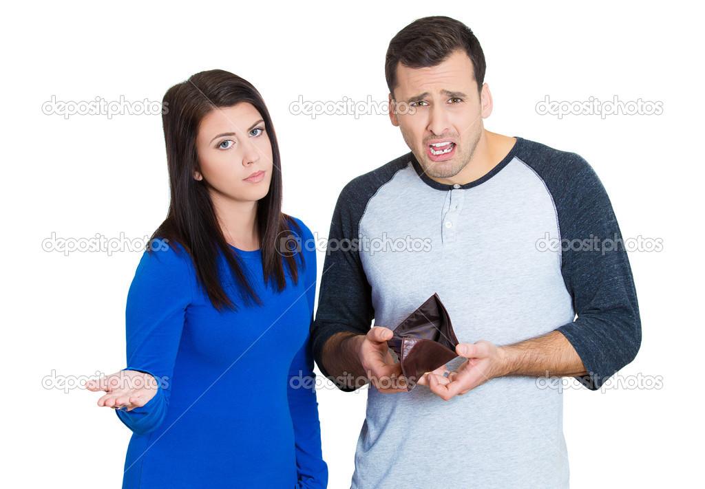 broke couple