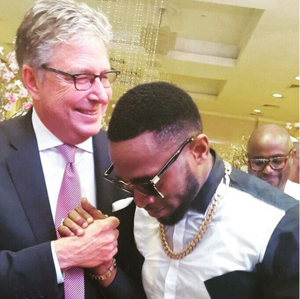 D'Banj Meets Gospel Music Legend Don Moen