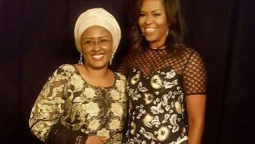 aisha-buhari-and-michelle-obama