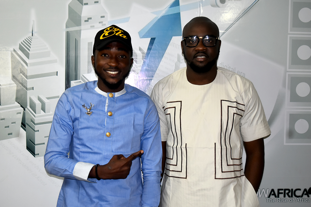 Babatunmise and Mr. Ayo Alex Alao, CEO of Jetheights Services Ltd.