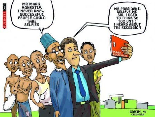 Buhari - Mark Zuckerberg
