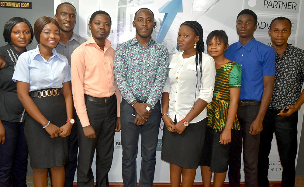 Wole Sawe with Jethights Staff
