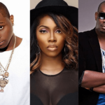 Davido, Tiwa Savage and Don Jazzy