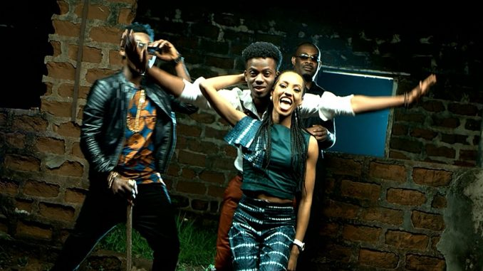 Don Jazzy ,Reekado Banks, Korede Bello And Di'ja image source: amandachisom.net