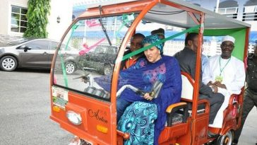 First African Solar Powered Keke NAPEP